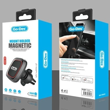Lopard Manyetik Araç Telefon Tutucu Havalandırma Tipi Go Des GD-HD611 Renkli